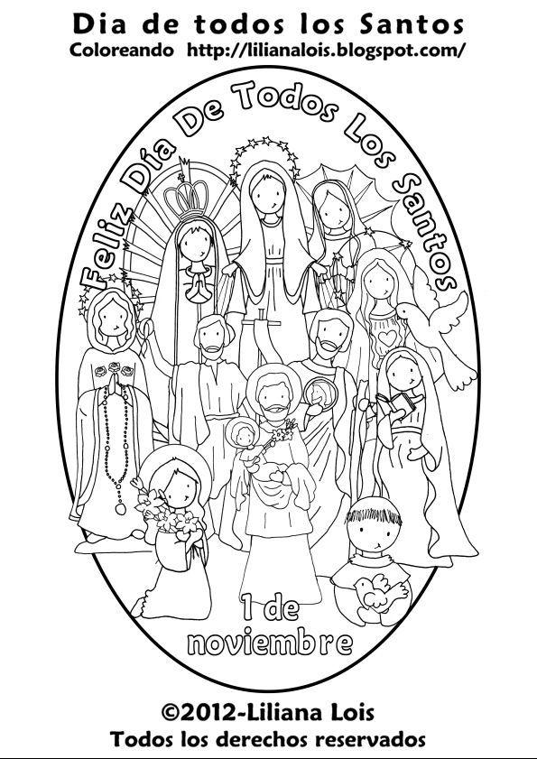 Día de Todos los Santos | Dibujos para Catequesis | Pinterest | All ...