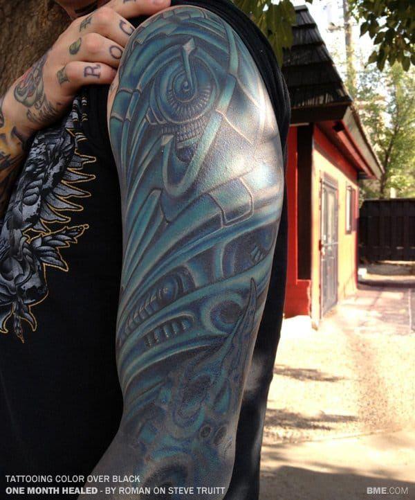 White On Black Tattoo You Can Tattoo White Over Black Black Tattoos Black White Tattoos Black Ink Tattoos
