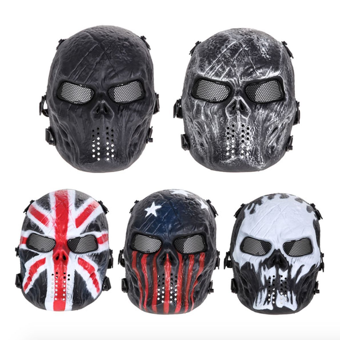 Typhoon Camouflage Ghost Tactical Outdoor Military Paintball ...
