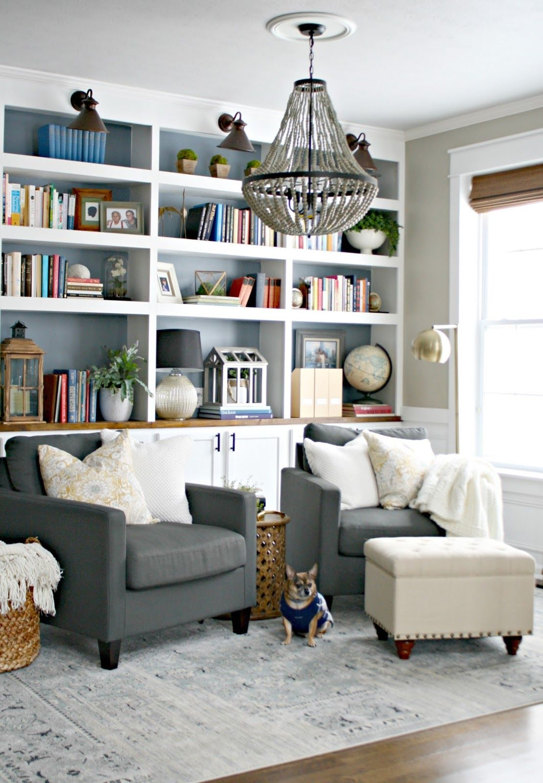 Reading Room Design Ideas: The Library Is Complete! (for Real This Time)