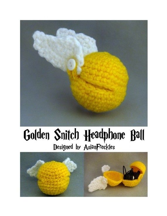 Harry Potter Crafts: Enchanted and Disenchanted amigurumi-crochet-or ...