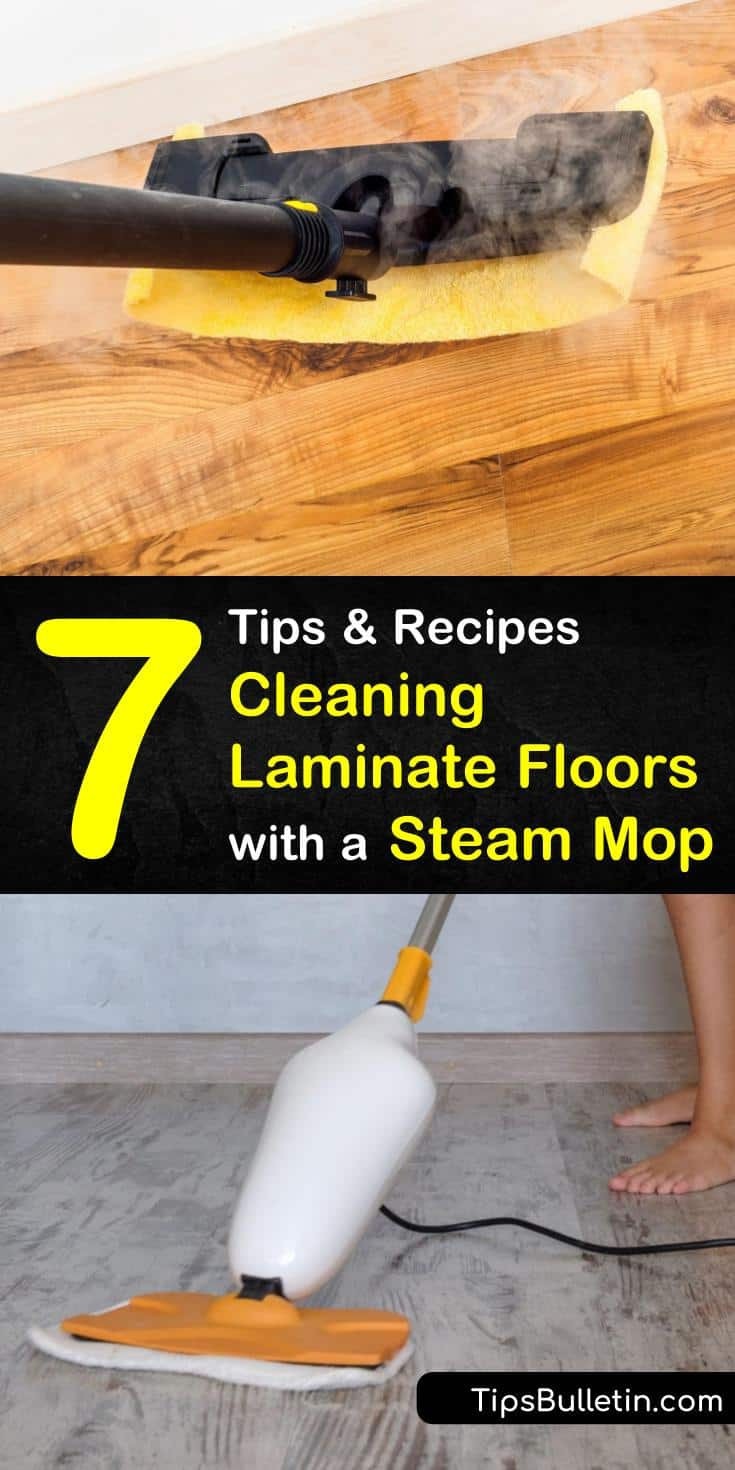 Cleaning Laminate Floors With A Steam Mop How To Clean Laminate Flooring Clean Laminate Steam Mop