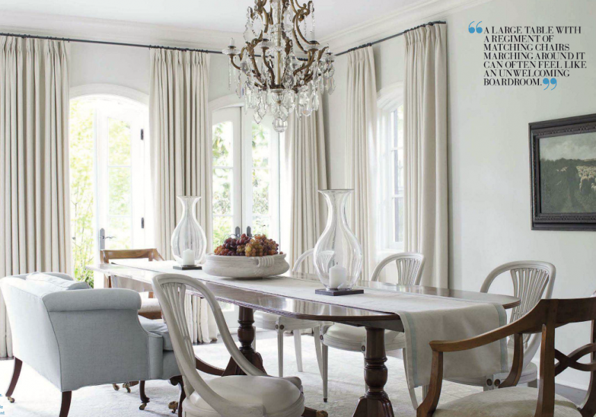 20 Interior Designers I Would Hire {part I} - laurel home   fabulous dining room by Darryl Carter