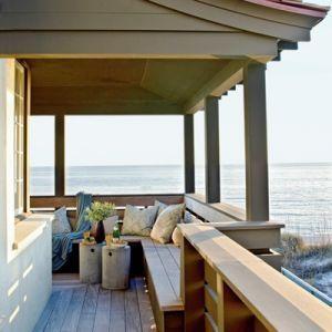 High end beach house decor