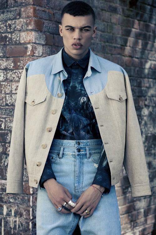 Good Morning Jamie Pretty Boys Black Male Models Mens Fashion Photography