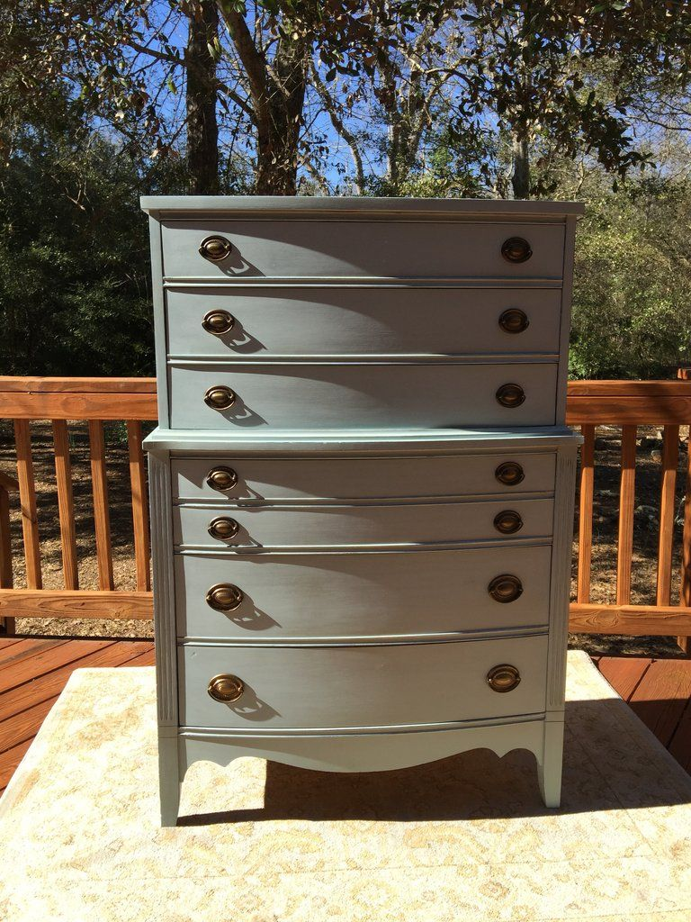 Pale Skies Federal Style Chest Of Drawers Uptown Boutique By Liz Chest Of Drawers Shabby Chic Furniture Drawers