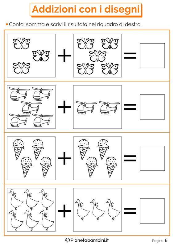 Risultati immagini per domino addizioni entro il 10 | Math For Kids ...