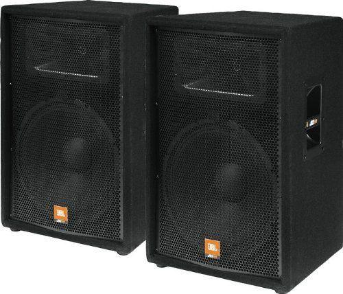 Jbl Jrx115 15 2 Way Speaker Cabinet Pair By Jbl 599 98 These 2 Way Jbl Jrx115 Speakers Have A 15 Woofer 2 Co Jbl Jbl Speakers Loudspeaker Sound Stage