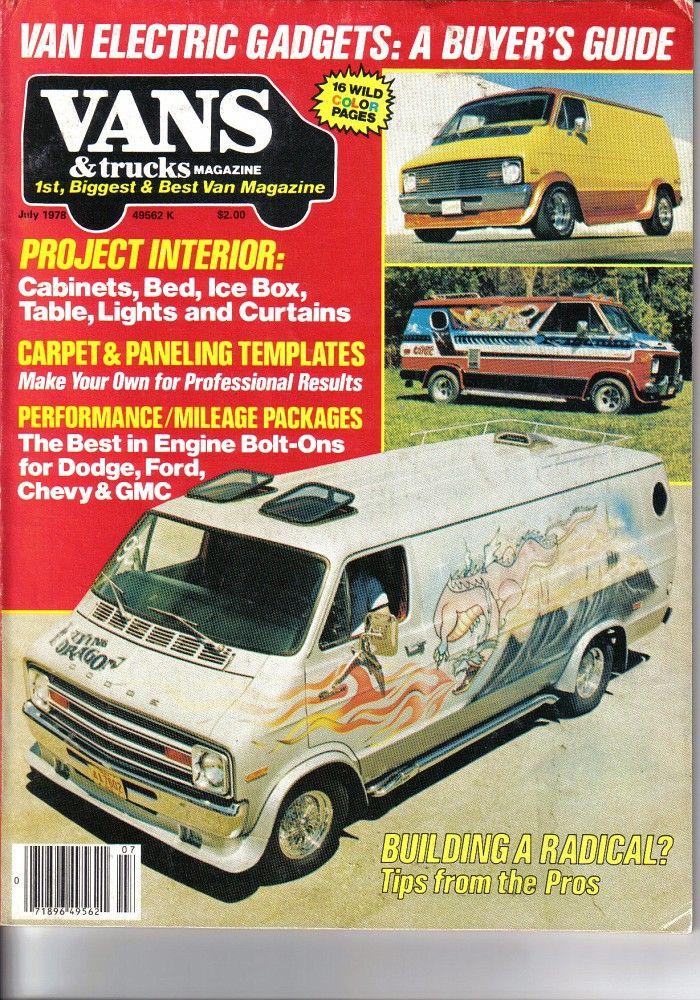 July78 Van Cool Vans Custom Vans