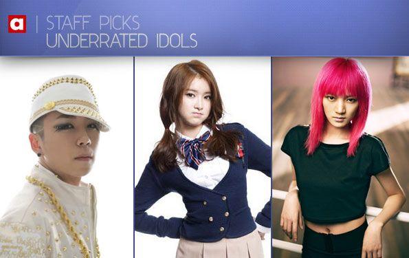 Staff Picks Underrated Idols Idol Kpop Staffing