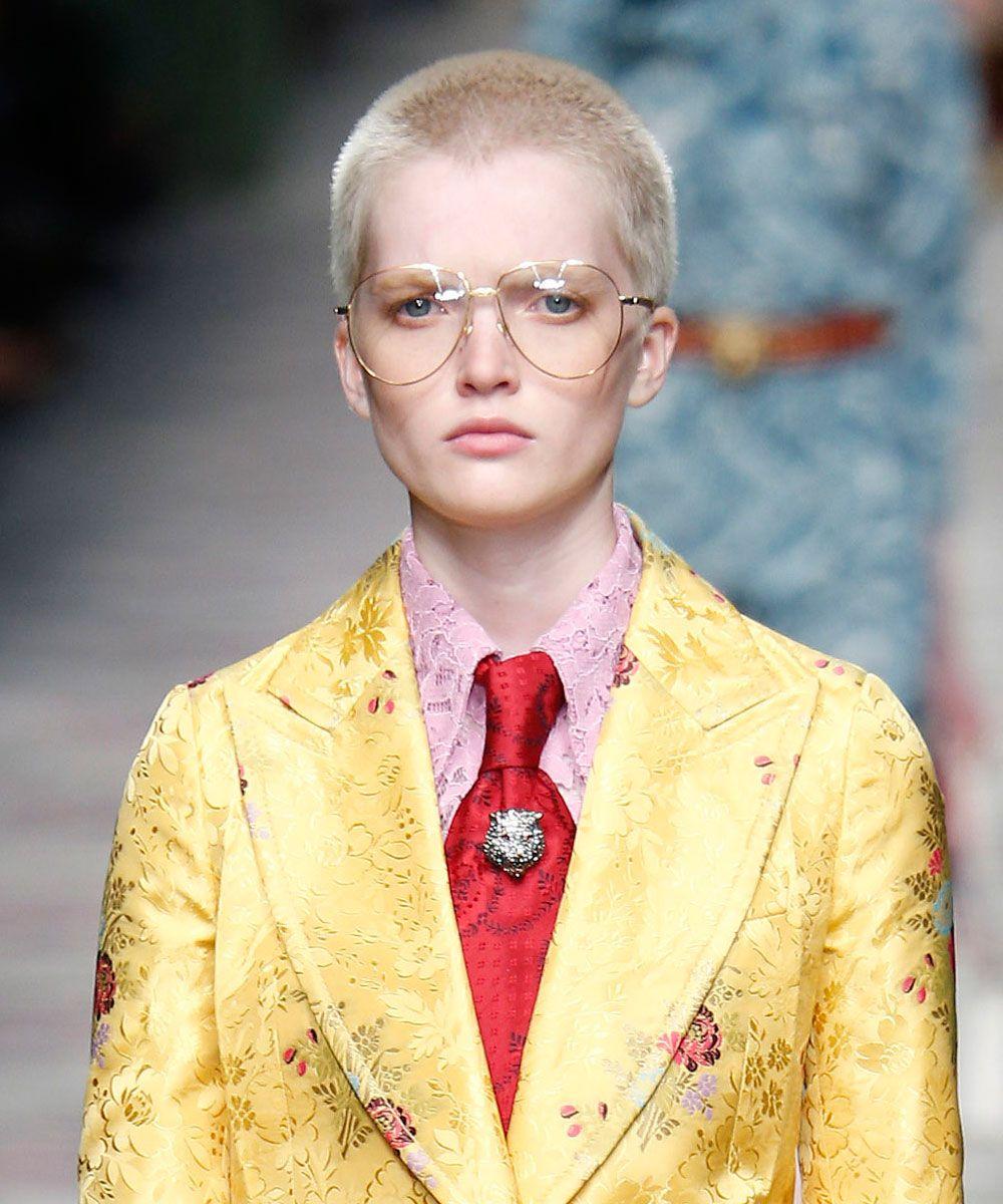 Mens haircut san diego pelo rapado por ruth bell en el desfile de gucci  telvacom