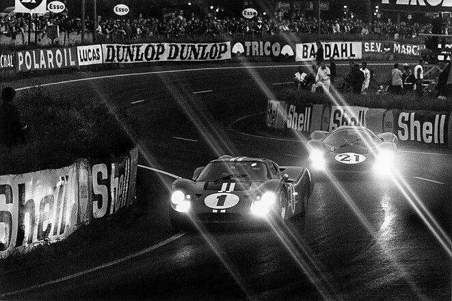 1967 Le Mans 24 Winning Ford Gt 40 Mk Iv American Drivers Dan