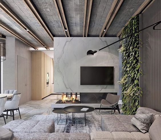 Concrete Ceiling (Norse White Scandinavian Design Blog ...