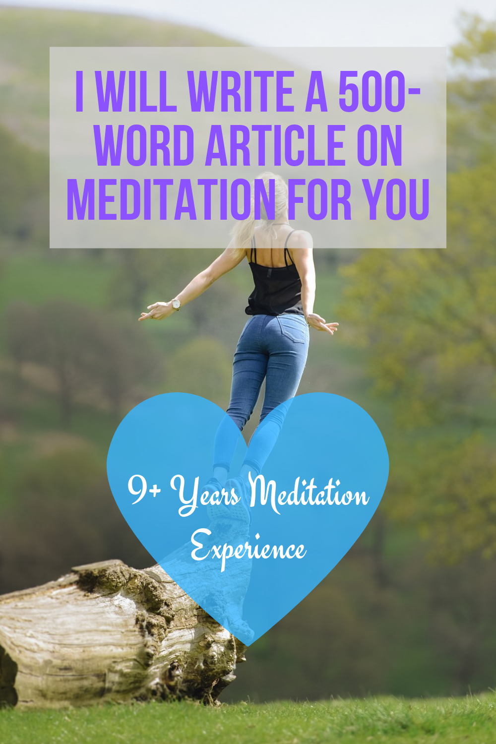 I Will Manually Write You Superb 500 Word Articles For Your Blog In The Meditation Niche Meditation Fiverr Blog Yoga For You Meditation Words