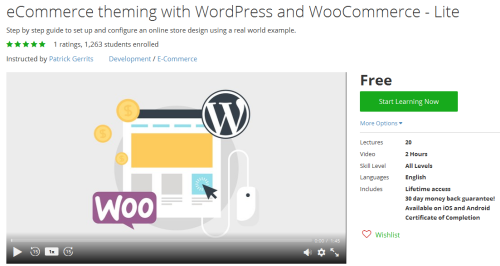 eCommerce theming with WordPress and WooCommerce - Lite...