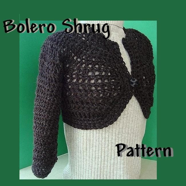 Bolero Shrug Boleros Crochet And Crochet Clothes