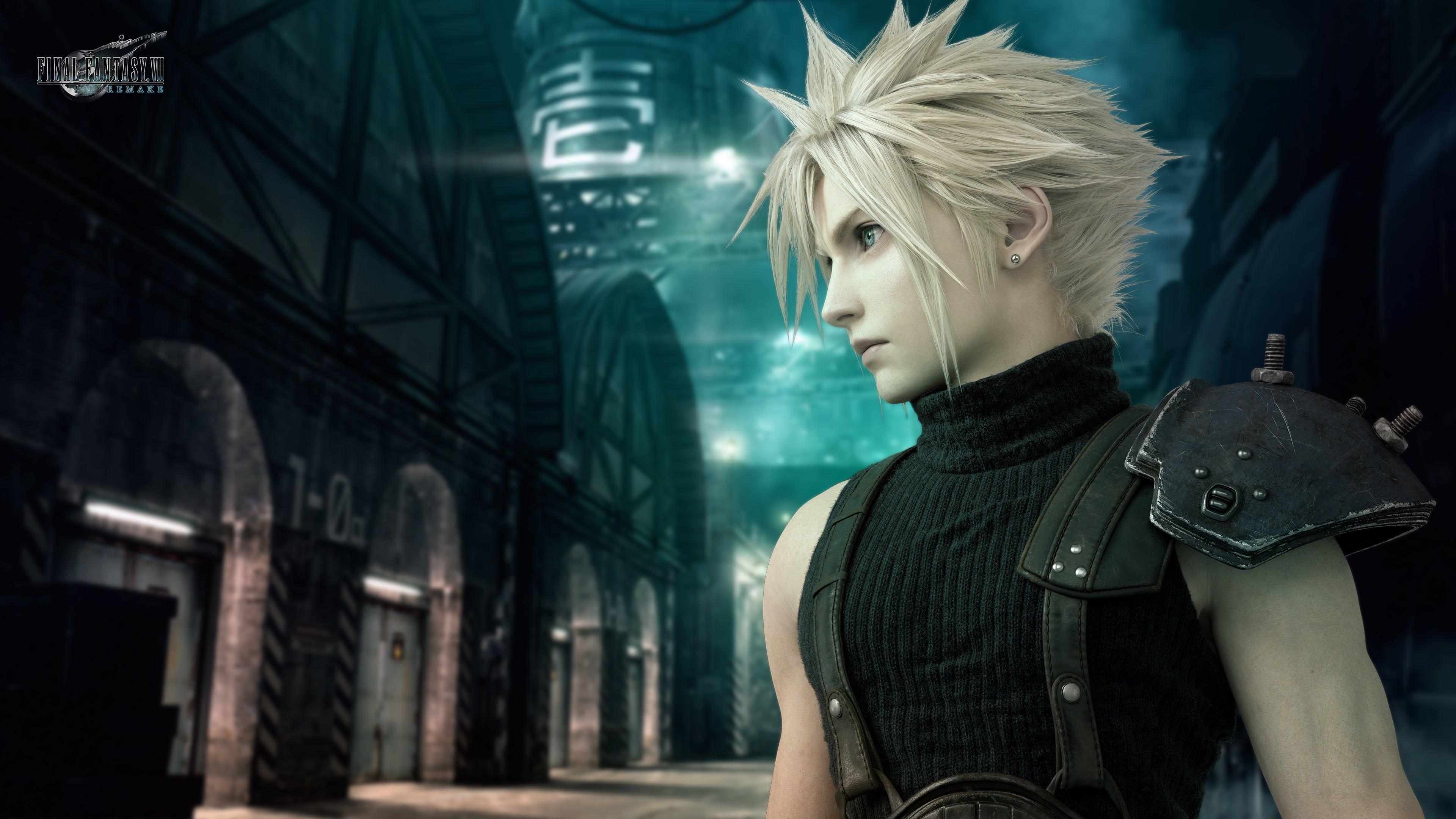 Final Fantasy Vii Remake Cloud Strife Final Fantasy Vii 4k Wallpaper Hdwallpaper De Final Fantasy Cloud Final Fantasy Vii Cloud Final Fantasy Cloud Strife