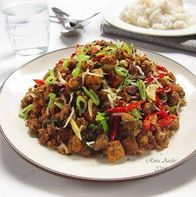 D A P U R M A N I S Tumis Oncom Dan Teri Medan Resep Masakan Tumis Resep Makanan