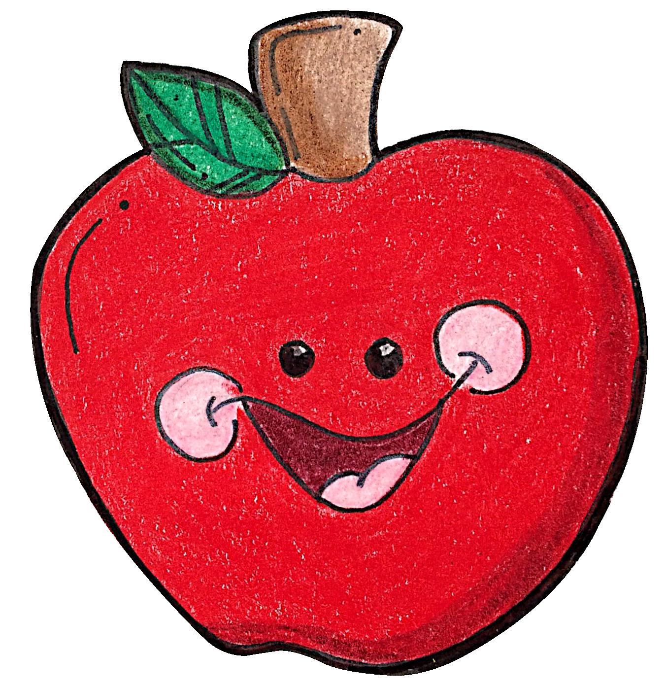 free apple clipart download [ 1352 x 1392 Pixel ]