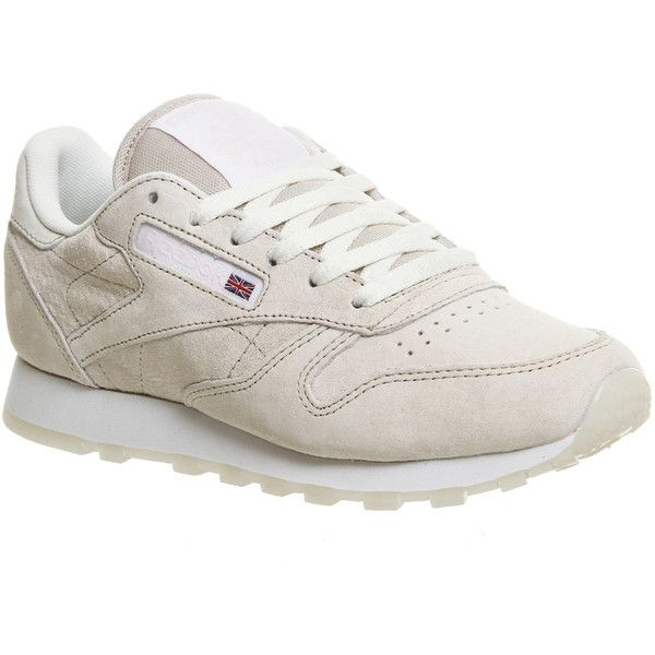 Reebok Classic Leather ($87) ❤ liked on Polyvore featuring