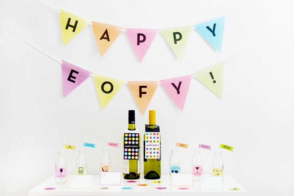 End Of Financial Year Fiscal Year Eofy Party Printable  Instant
