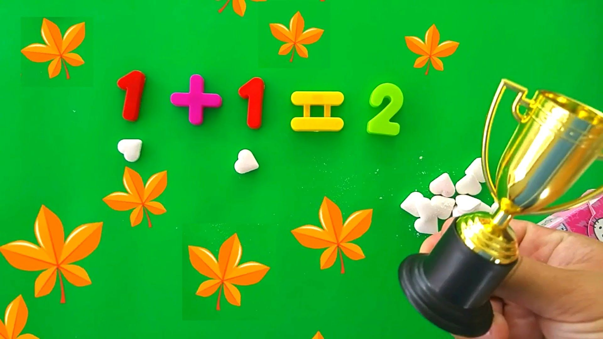 Kids Learn To Count Basic Math Kinder Surprise Eggs
