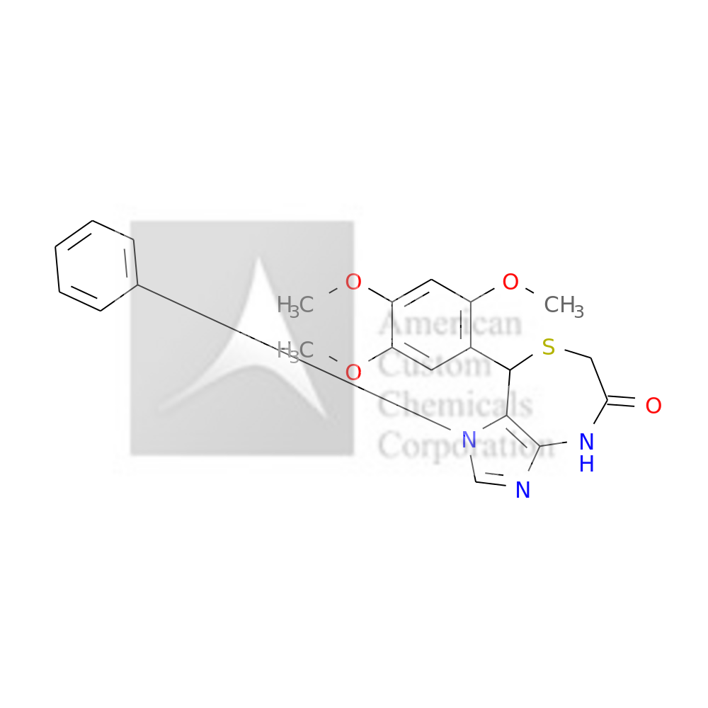 1-phenyl-8-(2,4,5-trimethoxyphenyl)-4,8-dihydroimidazo[4,5-e][1,4]thiazepin-5-one is now  available at ACC Corporation