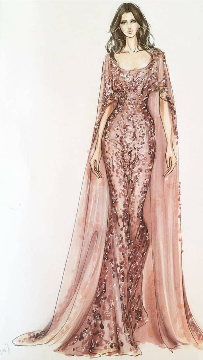 Pin de HadyaElserafy en Fashion illustrator designs | Pinterest ...