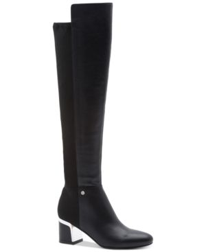 Cora Wide Calf Boots, Created For Macy