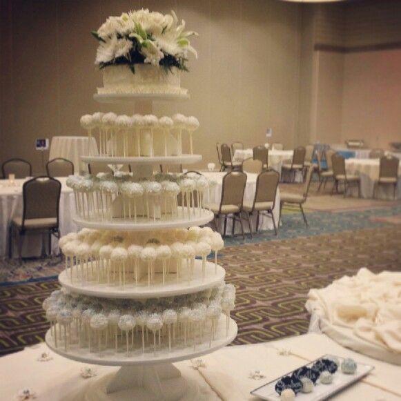 wedding cake pop stand cake pops pinterest wedding cake pops
