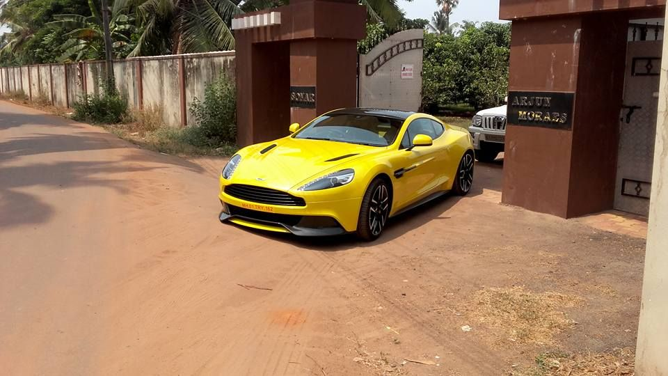 New Aston Martin Vanquish Arrives In Mangalore Aston Martin