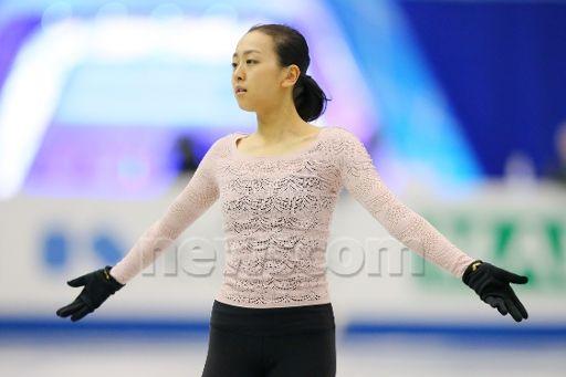 Mao Asada (JPN), DECEMBER 4, 2013 - Figure Skating : ISU Grand Prix of Figure Skating Final 2013 Women's Official Practice at Marine Messe i...