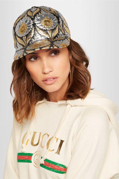 5048b72162 Gucci - Berta metallic jacquard cap