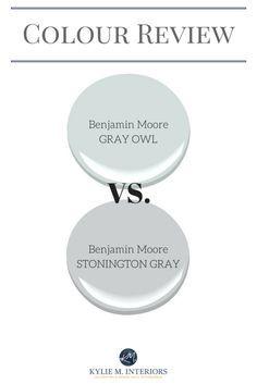 Benjamin Moore Gray Owl Vs Stonington Gray Comparing Undertones And More Paint Colors Benjamin Moore Benjamin Moore Grey Owl Room Paint Colors