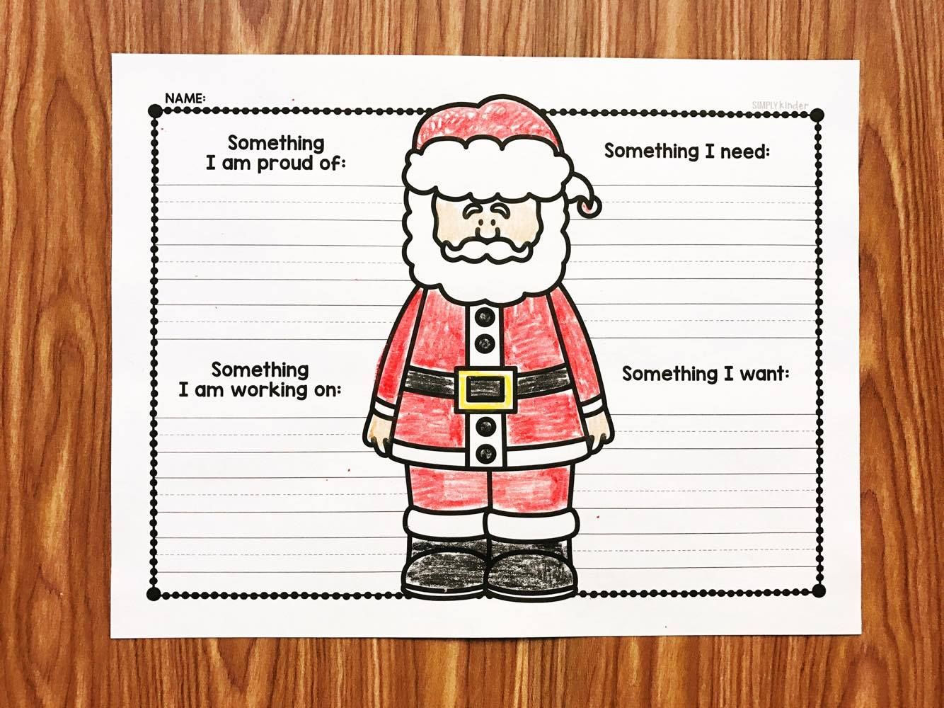 Free Letter To Santa