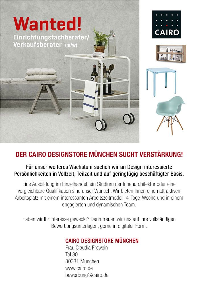 Innenarchitektur Qualifikation pin by cairo ag on cairo designstore münchen