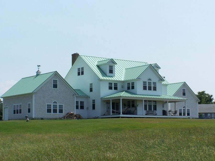 Modern Farmhouse Copper Roof