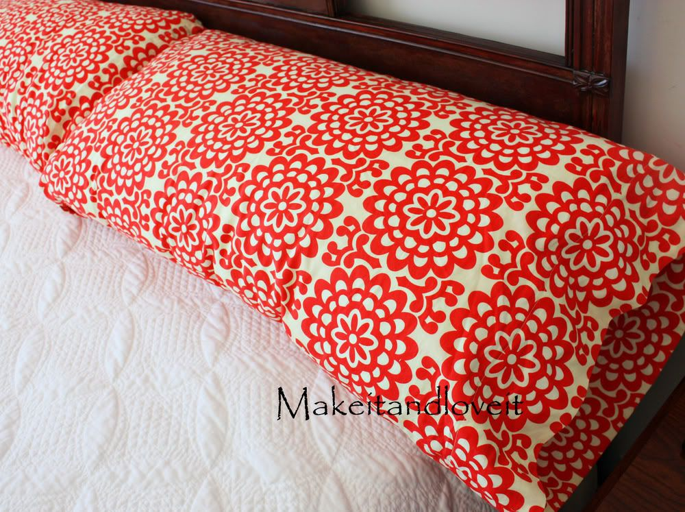 DIY sew your own pillow cases - Does this REALLY require a tutorial?   1. Cut rectangles twice the size of your pillow. 2. Fold in half, sew one long edge and one short. 3. Hem.
