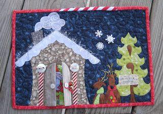 FlossieBlossoms: Christmas Mug Rugs- Sent and Received!
