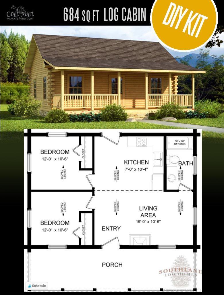 Tiny Log Cabin Kits Easy Diy Project Craft Mart Tiny Log Cabins Pre Built Cabins Small Log Cabin Kits