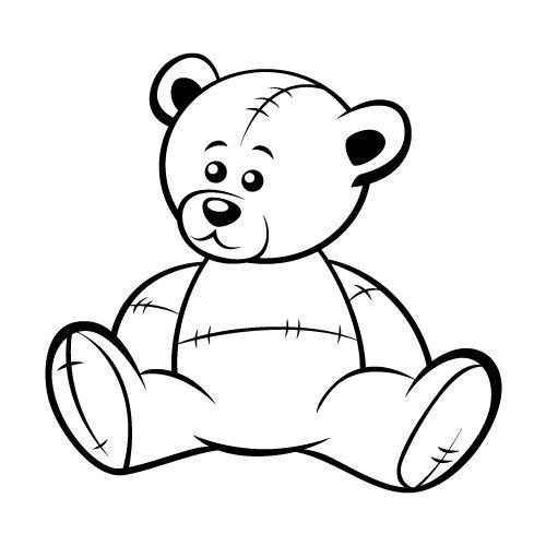 36++ Black teddy bear clipart info