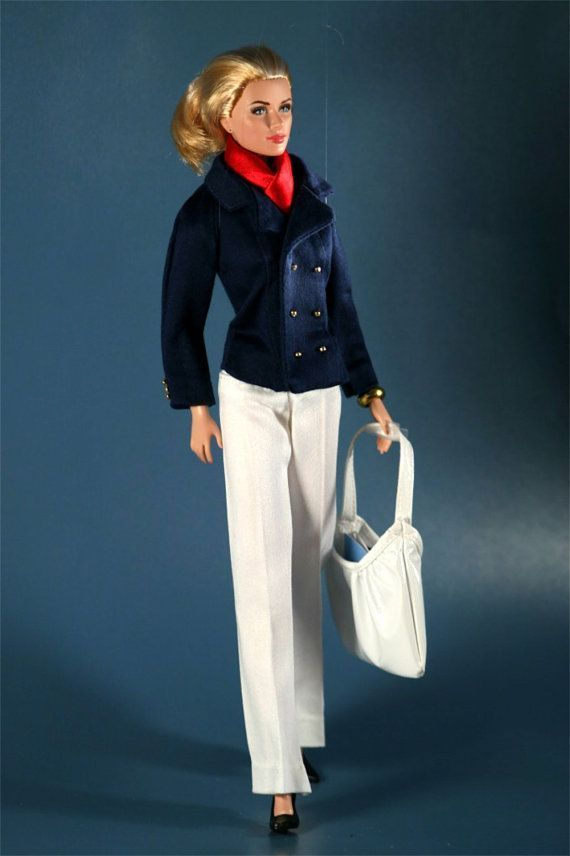 Cruise Wear Twenty Twelve - Navy Jacket and White Slacks for Barbie #whiteslacks Cruise Wear Navy Jacket For Barbie #whiteslacks Cruise Wear Twenty Twelve - Navy Jacket and White Slacks for Barbie #whiteslacks Cruise Wear Navy Jacket For Barbie #whiteslacks