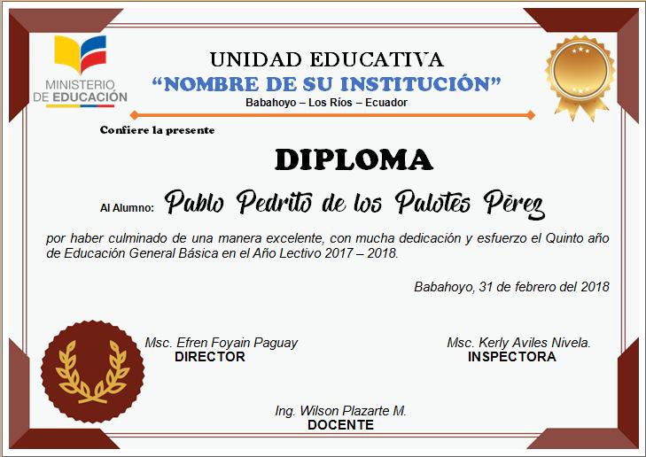 Diplomas Editables En Word Para Imprimir Ayuda Docente Diplomas Editables Diplomas Para Descargar Diplomas