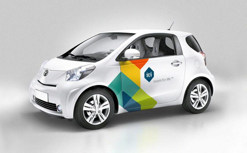 ITI by Heydays.no  #identity #car #wrap