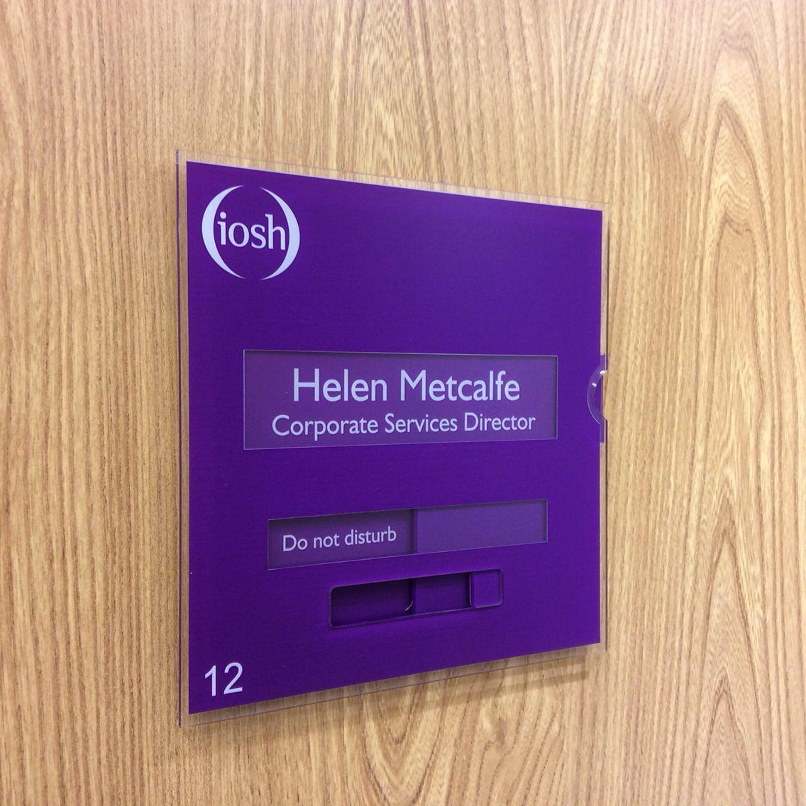 Changeable door signs Doctors nameplates Medical Sliding door ...