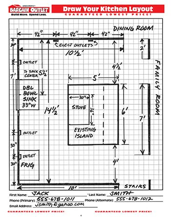 How To Measure Your Kitchen For New Cabinets New Kitchen