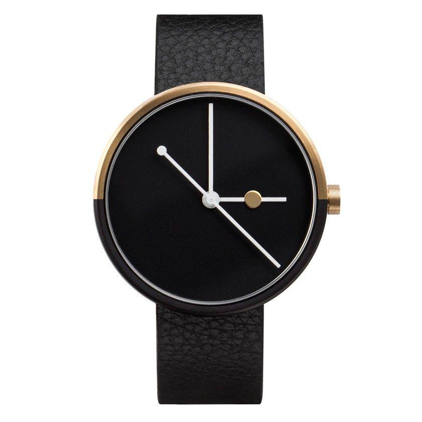 AARK Eclipse Gold Watch
