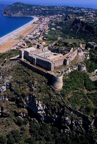 Italy Milazzo Aerial Castle View #VisitingItaly   Sicilia ...