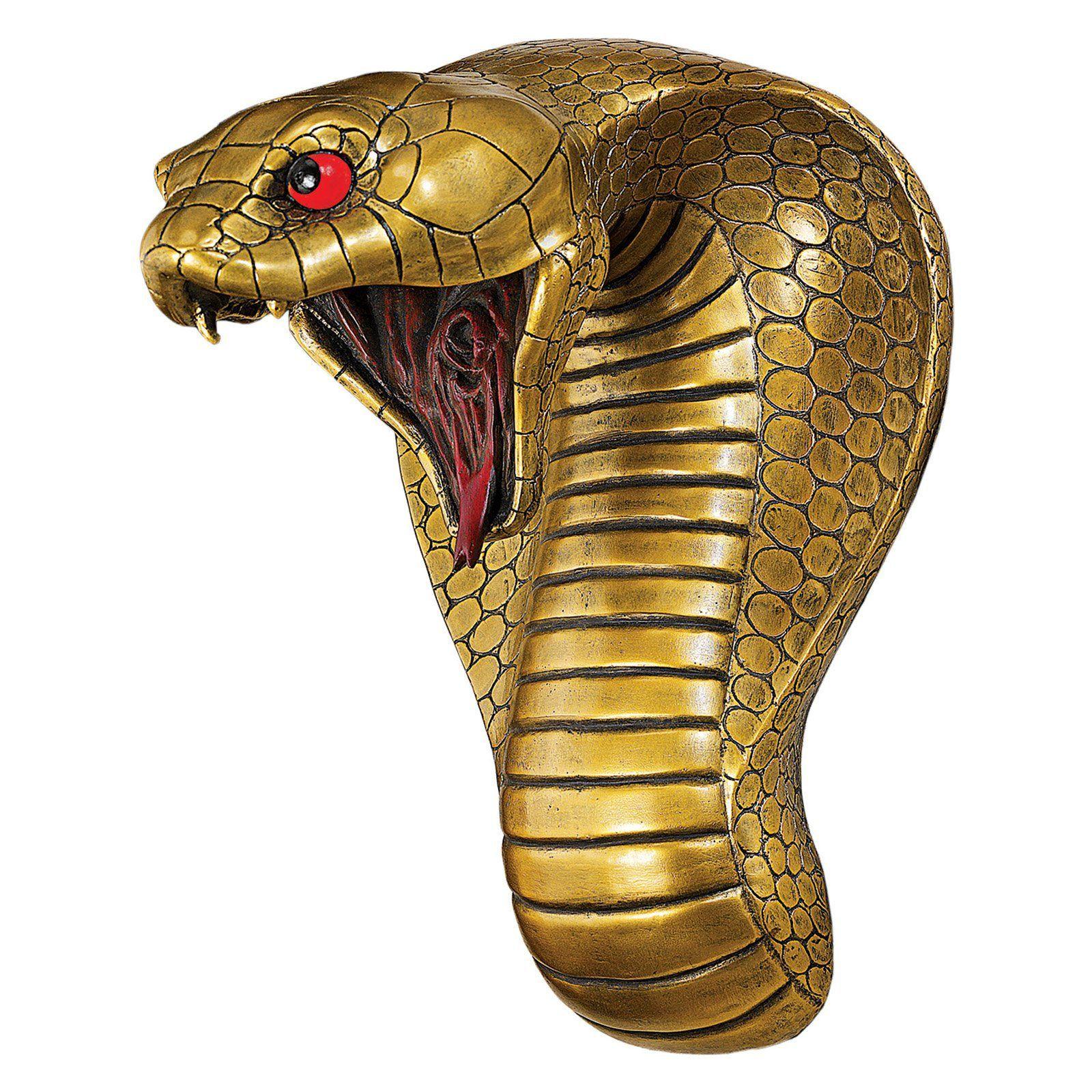 Design Toscano Egyptian Cobra Goddess Wall Sculpture Cl5943