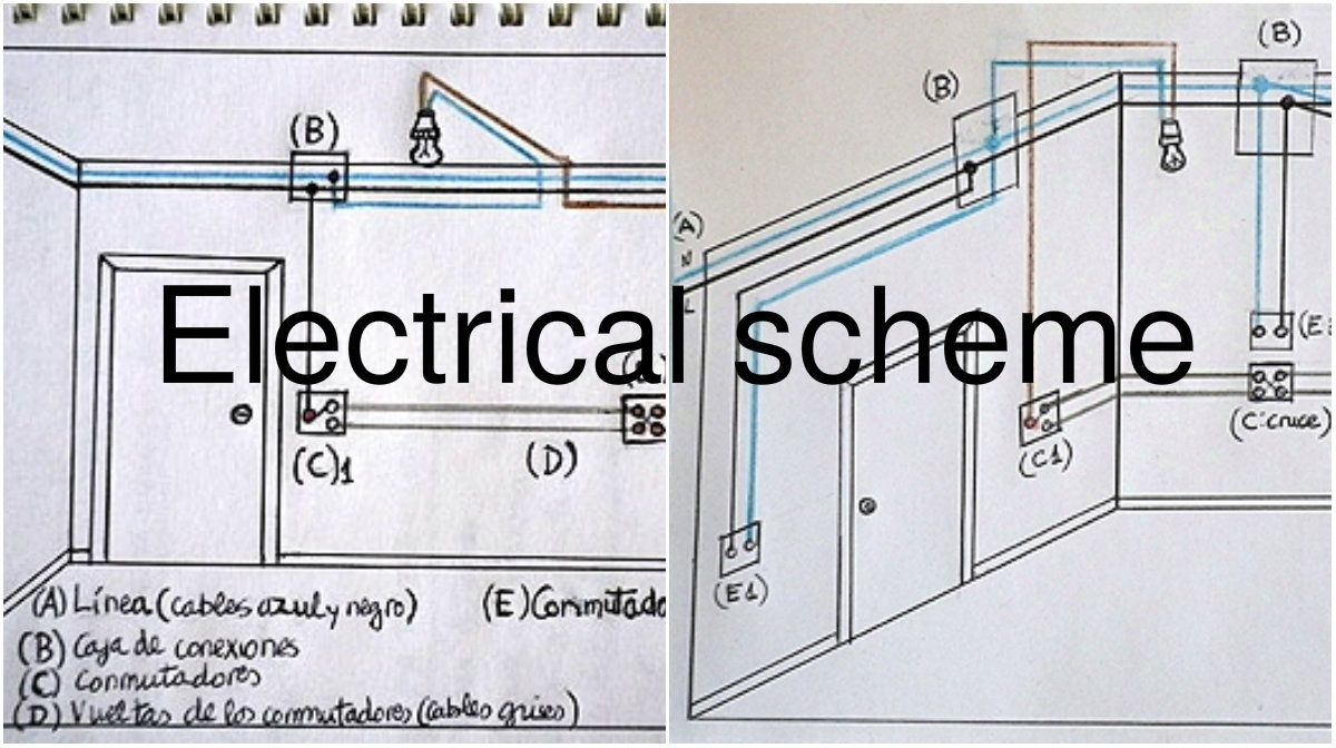 Making an Electrical Scheme with three Switches Guide | Tips ...